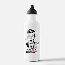 Cute Gary johnson Water Bottle