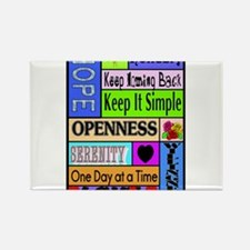 12 step sayings Magnets