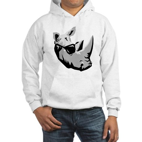 Cool Rhinoceros Hooded Sweatshirt