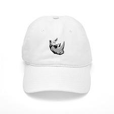 Cool Rhinoceros Baseball Cap
