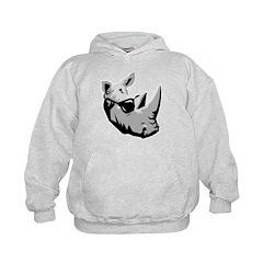 Cool Rhinoceros Hoodie