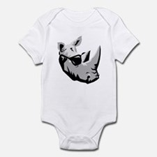Cool Rhinoceros Infant Bodysuit