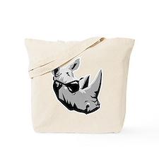 Cool Rhinoceros Tote Bag