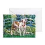 Bridge / Pitbull Greeting Cards (Pk of 20)