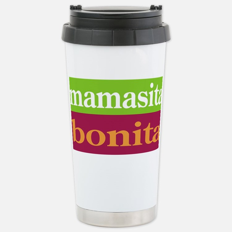 Cute Karate mom devoted mom by day Travel Mug