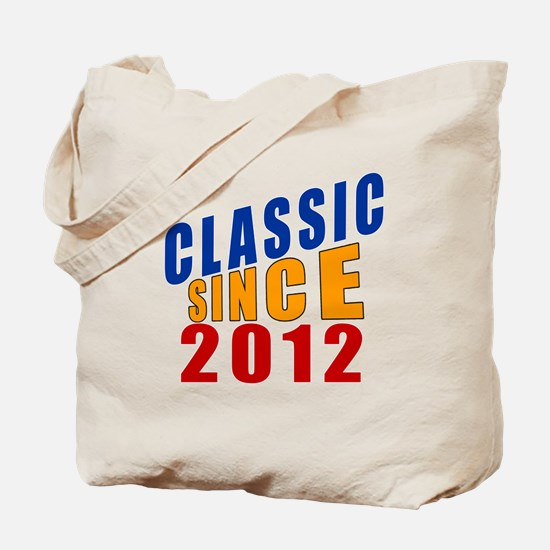 Classic Since 2012 Tote Bag