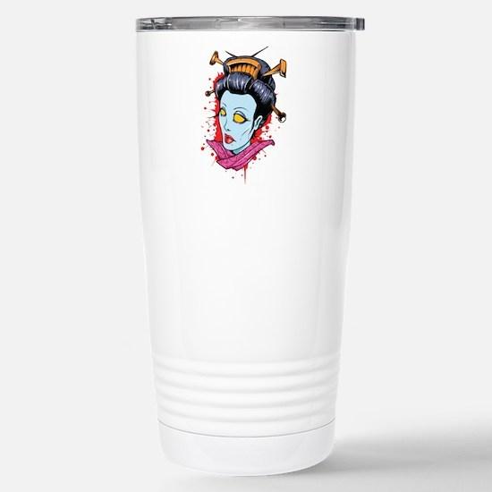 Zombie Geisha Travel Mug