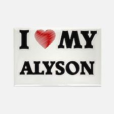 I love my Alyson Magnets