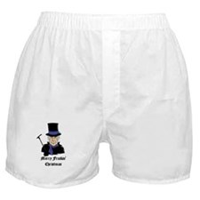Merry Freakin Christmas Boxer Shorts