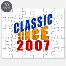 Classic Since 2007 Puzzle