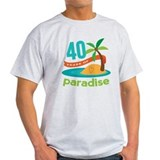 Hawaii 40 years of paradise Light T-Shirt