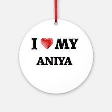 I love my Aniya Round Ornament