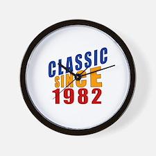 Classic Since 1982 Wall Clock
