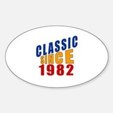 Classic Since 1982 Decal