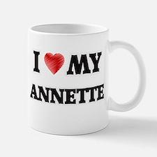 I love my Annette Mugs