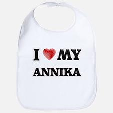 I love my Annika Bib