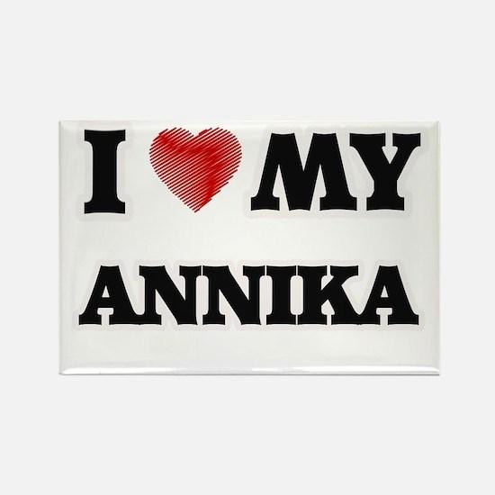 I love my Annika Magnets