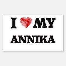 I love my Annika Decal