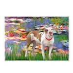 Lilies & Pitbull Postcards (Package of 8)
