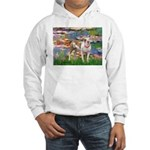 Lilies & Pitbull Hooded Sweatshirt