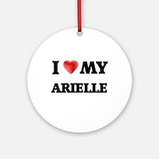 I love my Arielle Round Ornament