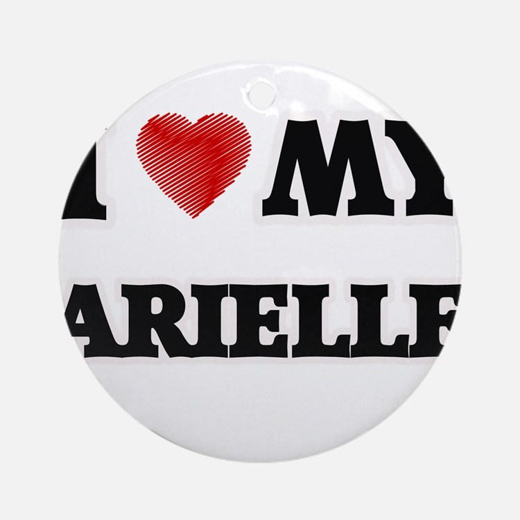I love my Arielle Round Ornament