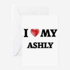 I love my Ashly Greeting Cards