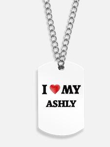 I love my Ashly Dog Tags