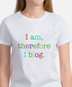 I am, therefore I blog Tee