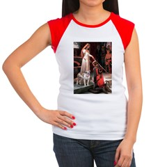 The Accolade / Pitbull Women's Cap Sleeve T-Shirt