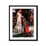 The Accolade / Pitbull Framed Panel Print