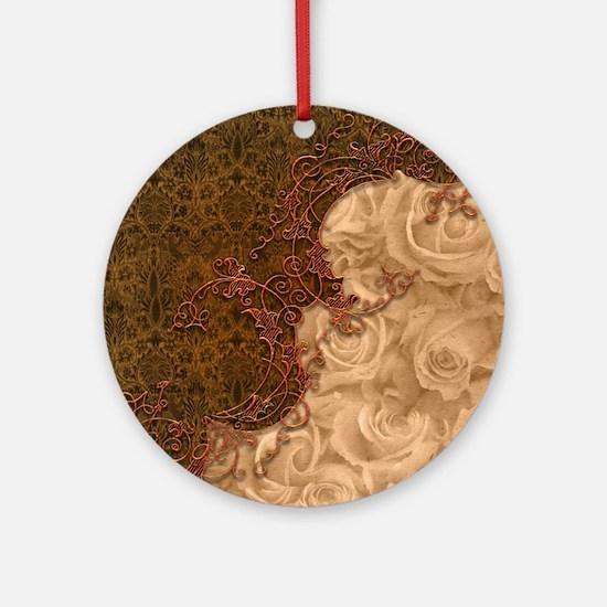 Wonderful vintage design Round Ornament