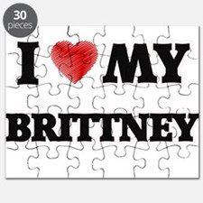 I love my Brittney Puzzle