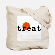 Halloween Trick on Front/Treat on back Tote Bag