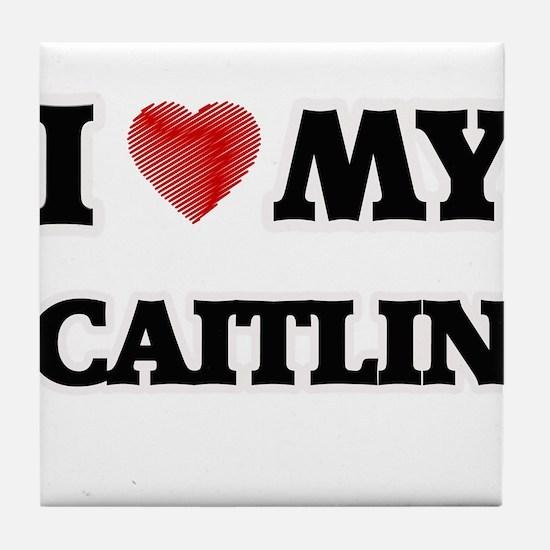I love my Caitlin Tile Coaster