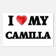 I love my Camilla Postcards (Package of 8)