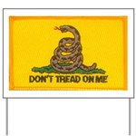 Gadsen Don't Tread on Me! Yard Sign