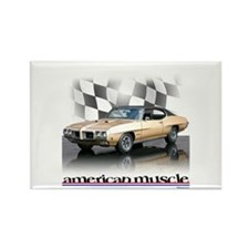 GTO Muscle Rectangle Magnet
