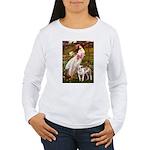 Windflowers / Pitbull Women's Long Sleeve T-Shirt