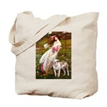 Windflowers / Pitbull Tote Bag