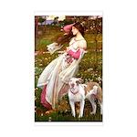 Windflowers / Pitbull Sticker (Rectangle)