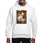 Windflowers / Pitbull Hooded Sweatshirt