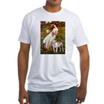 Windflowers / Pitbull Fitted T-Shirt