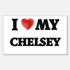 I love my Chelsey Decal