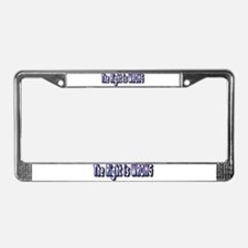 The Right is Wrong License Plate Frame