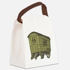 Funny Gypsy Canvas Lunch Bag