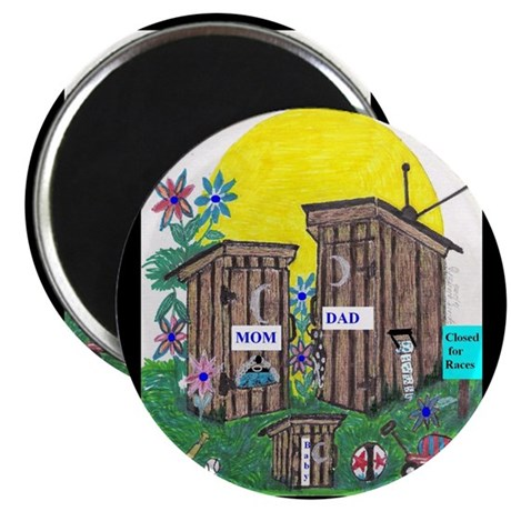 Outhouse Series/Family Affair Magnet