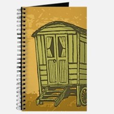 Gypsy caravan wagon Journal