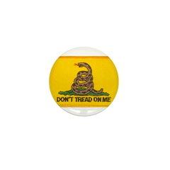 Don't Tread on Me! Mini Button