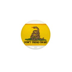 Don't Tread on Me! Mini Button (100 pack)
